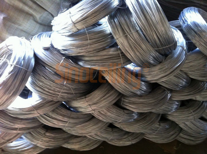 Gi Galvanized Wire Suspended Ceiling Grids Sinoceiling