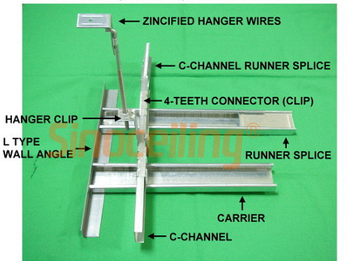 Suspended Steel Profile Drywall Steel Profile