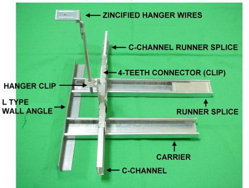 Metal Profile Suspension System Metal Profile System