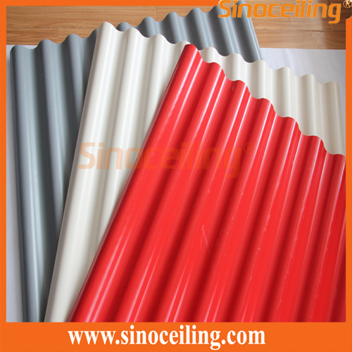 Corrugated Roofing Sheet Colorful Pvc Roofing Sheet