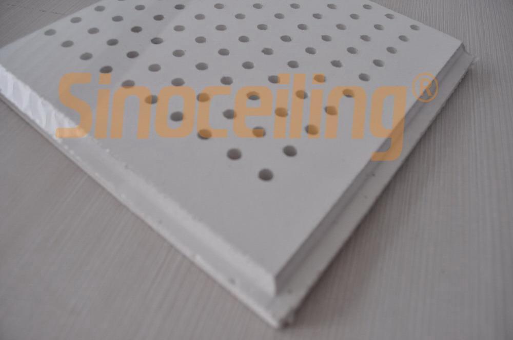 Perforated Gypsum Tile Ceiling Suspension Tiles Sinoceiling Coltd
