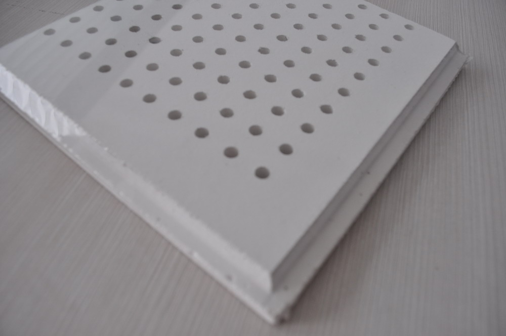Perforated Gypsum Ceiling Tile Ceiling Suspension System